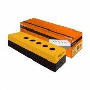 корпус КП105 для кнопок 5 мест желтый купить в Гомеле