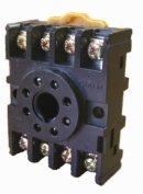 разьем Р8Ц - цокольный 8-pin на DIN-рейку купить в Гомеле
