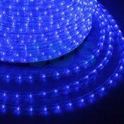 Дюралайт led, постоянное свечение (2w) - синий, 24 led/м, ø10мм, бухта 100м