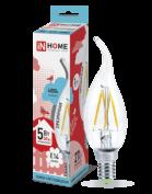 лампочка светодиодная LED-СВЕЧА НА ВЕТРУ-deco 5Вт 230В Е14 4000К 450Лм в Гомеле